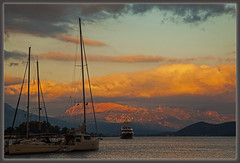 2512 - The Morning Light in Poros, Greece photo by foxxyg2