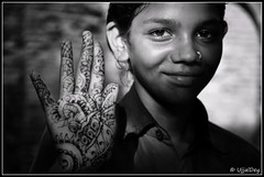 Mehandi Hand photo by ujjal dey