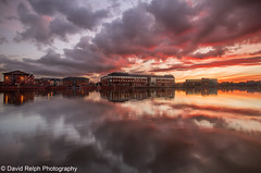 River Tees Sunset photo by David Relph