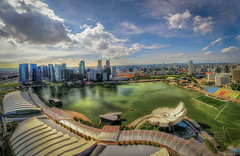 Singapore in Panorama baby! photo by Wameq R