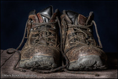 Tired Boots photo by Mark Birkle