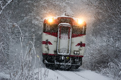 Winter's train photo by jyunbo