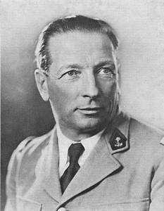 Portrait  du général Diego Brosset