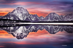 Mt Moran reflection, Grand Teton National Park photo by Wind Walk