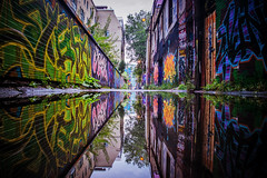 Graffiti Alley (Rush Lane) photo by AshtonPal
