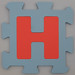 Foam Play Mat Letter H