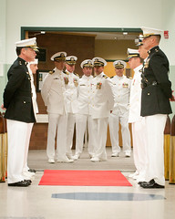 Naval Officers waiting in the wings. photo by .James Brian Clark