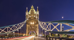 20140520_F0001: Classic Tower bridge view in a cosmic scene photo by wfxue