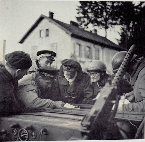 RFM - Valdoie- Savary, Colmay et 2 hommes des Commandos (à droite) .- Paul Gaujac