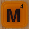 WORDS with friends letter M