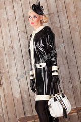 Latex & Rubber black & white by Latexcrazy photo by Latexcrazy