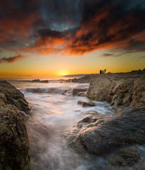 Sunset Selfie at Carmel Beach - Carmel, CA photo by Axe.Man