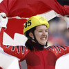 Boucher wins bronze in short track