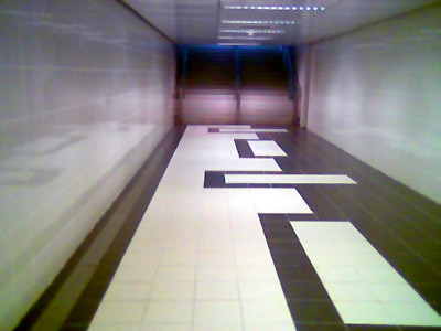 Underpass here below Orchard road towards Lucky Plaza is quite spic and span.
