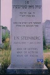 Shteynberg Matseyve (Gravestone) - New York
