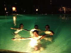 希爾頓豪華大泳池