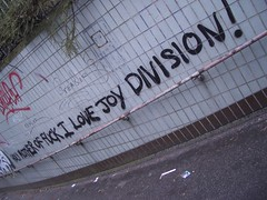 ... I Love Joy Division! photo by dullhunk