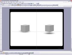 Microsoft PowerPoint drop shadow