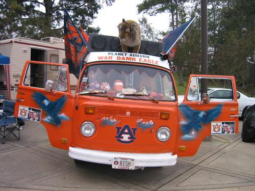 Auburn Tiger Van