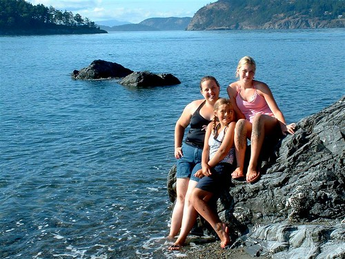 Carol, <b>Reductil For Sale</b>, Jamie, and Danielle at Deception Pass