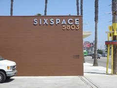 sixspace sign - front
