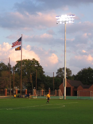 Flag and the keeper