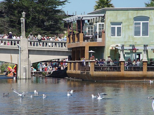 Capitola Begonia Festival, View from Our Seat