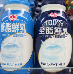 full fat milk
