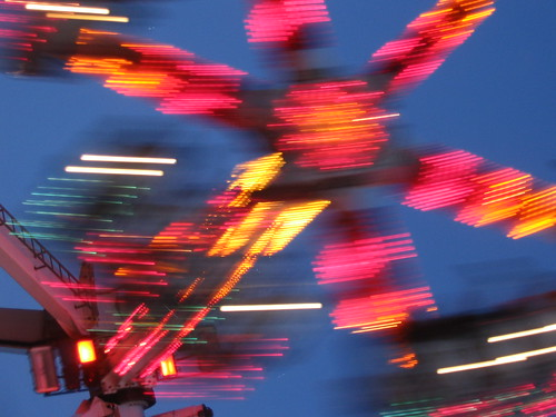 A Spinny Ride at The Ex