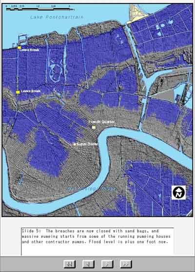 New Orleans Flood Level