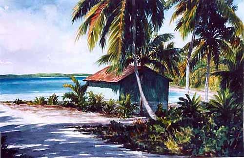Bahamian Boat Shack
