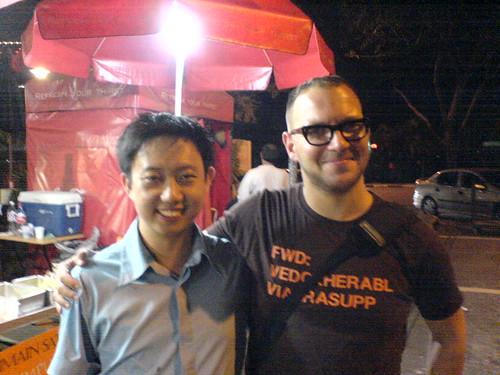 Me and Cory Doctorow
