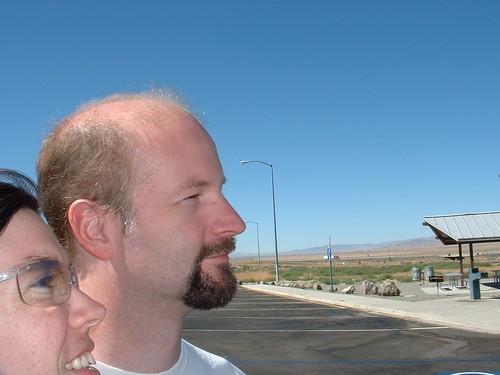 Eshinee & Rob ... Nevada road tripping
