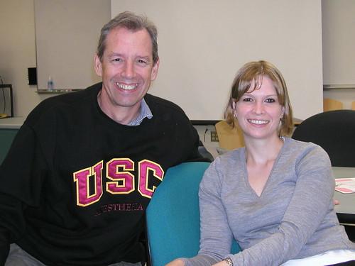 Christy and David