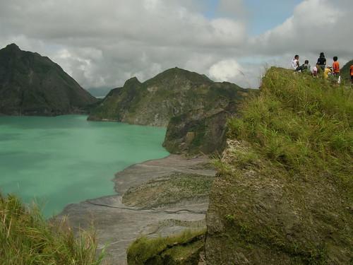 pinatubo crater lake high