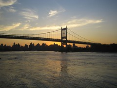 Triboro at sunset