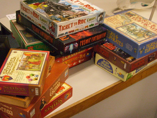 Some of the gaming association's games