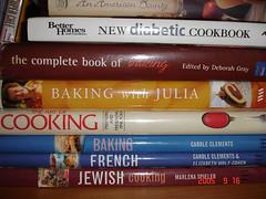 I love books, specially cookbooks