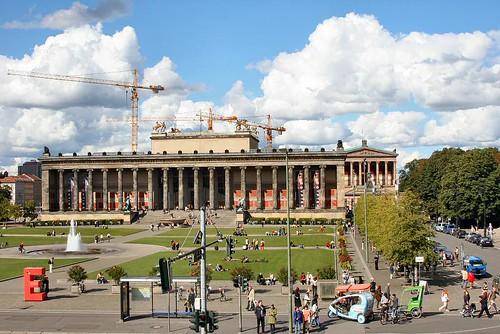 Blick vom Palast der Republik