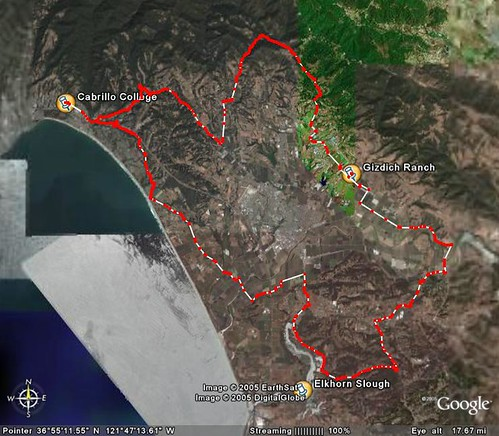 100K Course Map