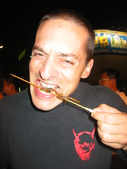 Eating Scorpions