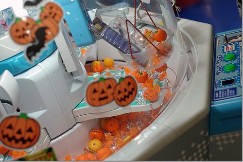 Halloween scooper game