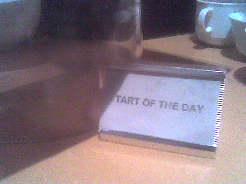 Tart of the Day