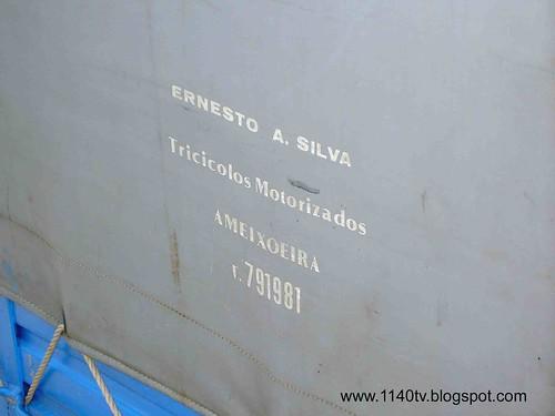 Triciclo Ernesto A. Silva - Pormenor
