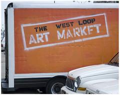 West Loop art truck