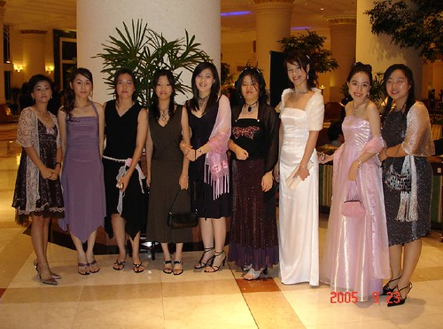 Monash Ball 2005 Flame and Frost - Girls before ball