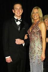 Kurt Busch and Eva Bryan