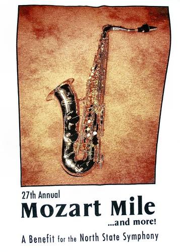 Mozart Mile tshirt