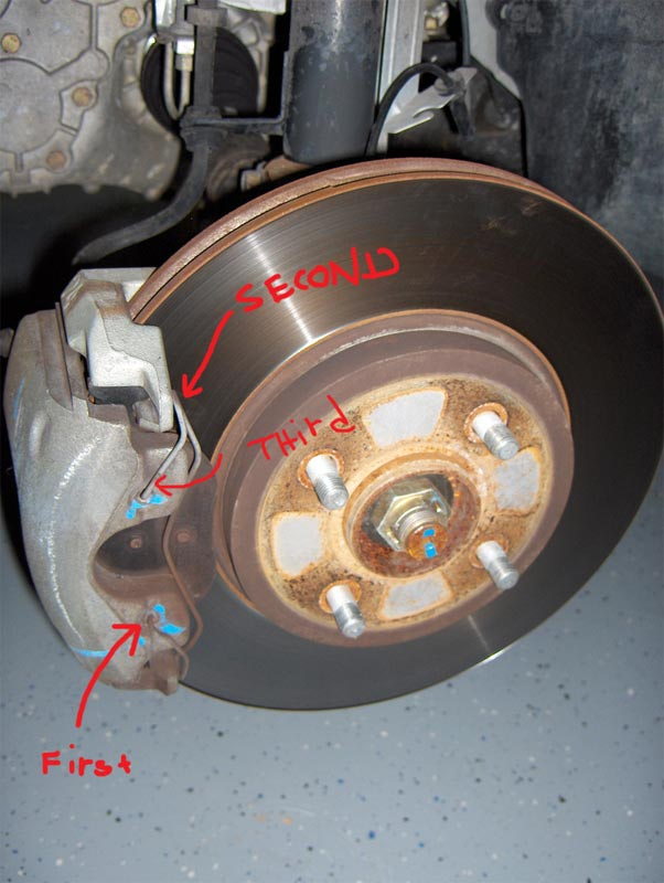 Another Sticking Caliper, Parking Brake Issues