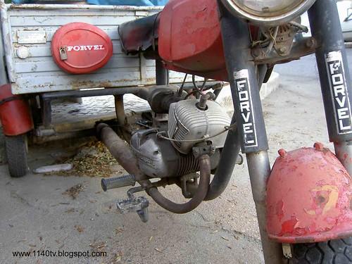 Forvel triciclo pormenor